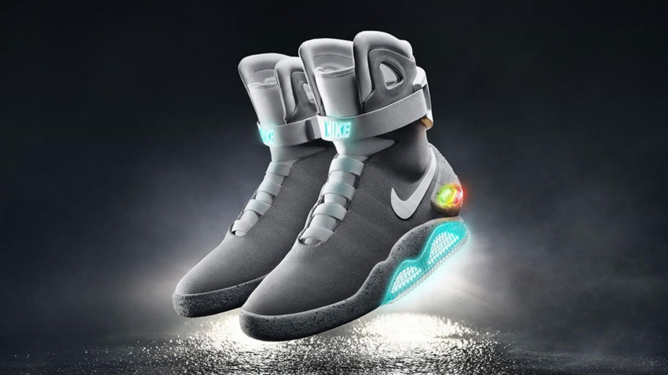 Nike officially launches self lacing 'Back to the Future