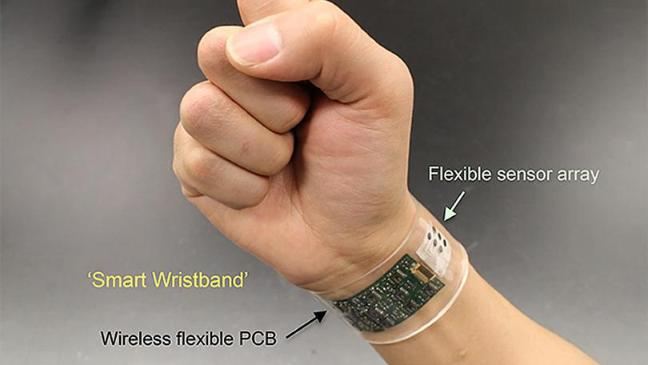 The end of the blood test? Wristband measures sweat to monitor health'