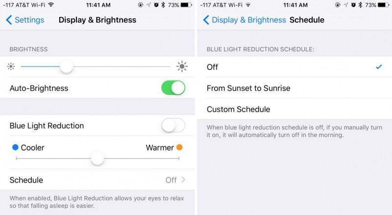 Apple's Night Shift Feature Could Help iPhone Users Sleep