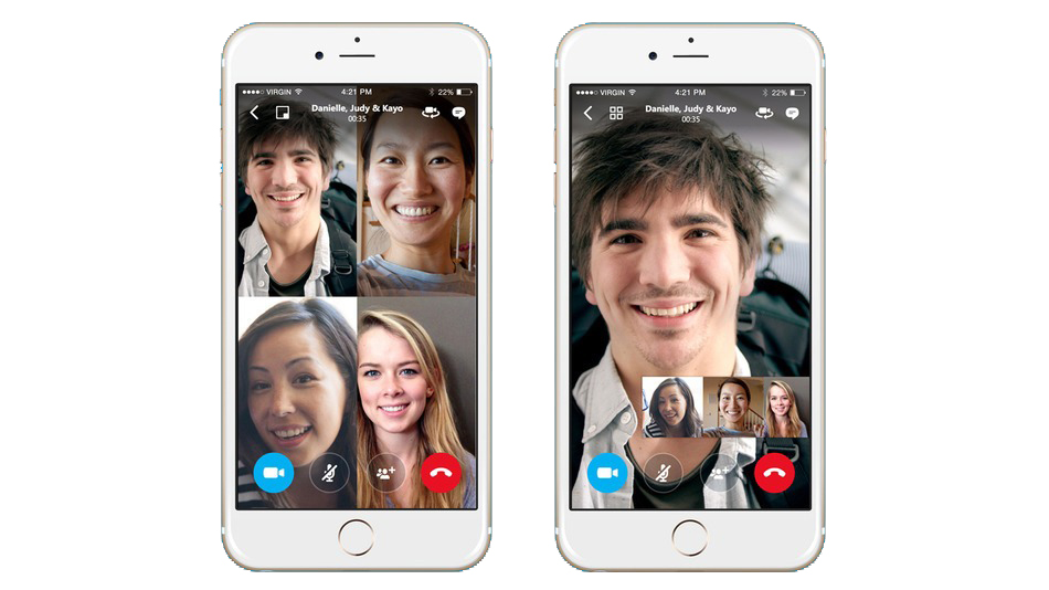 Group video calls on Skype will be available soon on mobile