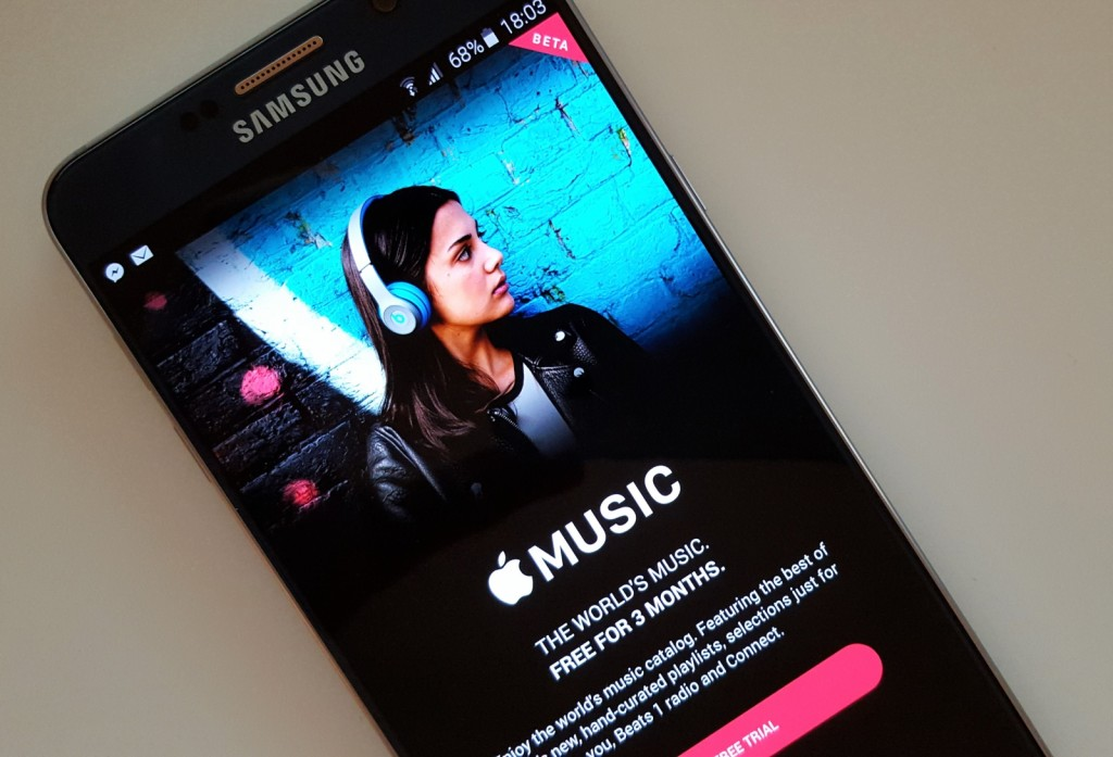 Apple Music for Android can let you save songs to your SD card