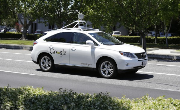 See the moment a self-driving Google car crashed into a bus