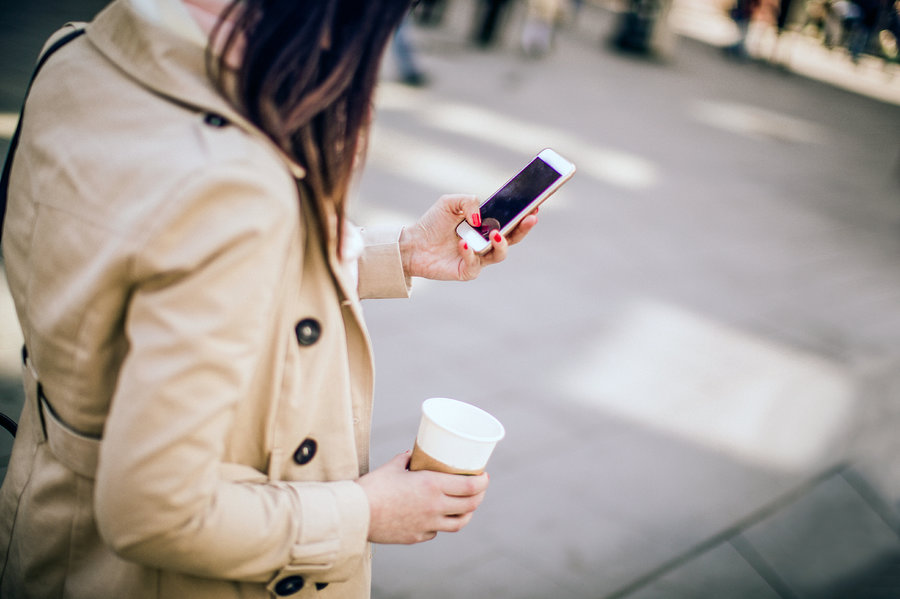 Texting and walking could soon be criminal offence in one US state