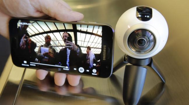 Samsung's 360-degree camera is out