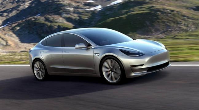 Tesla reveals the new Model 3