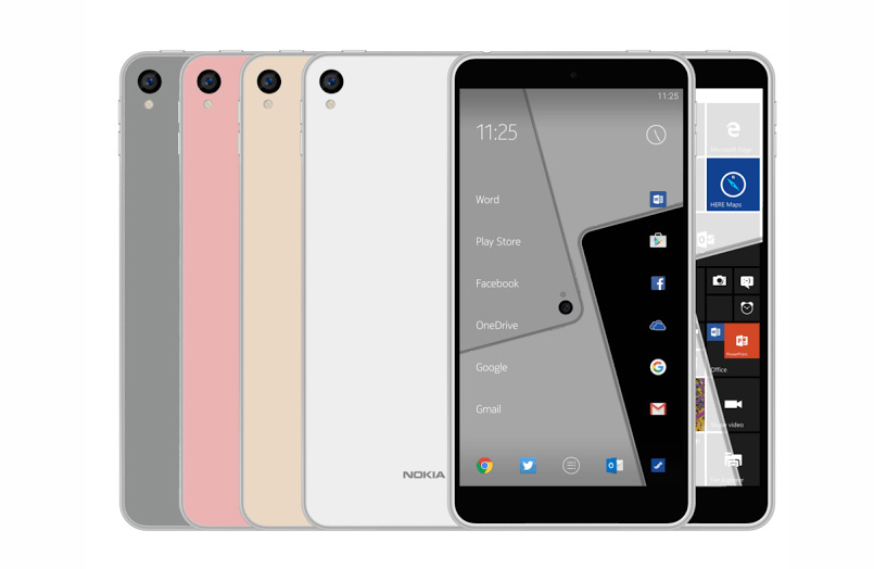 Possible features of Nokia P1